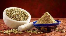 Coriander Seeds and Powder